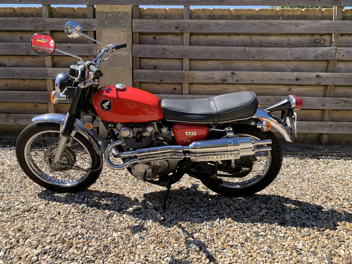 1968 HONDA CL 450 For Sale (picture 2 of 6)