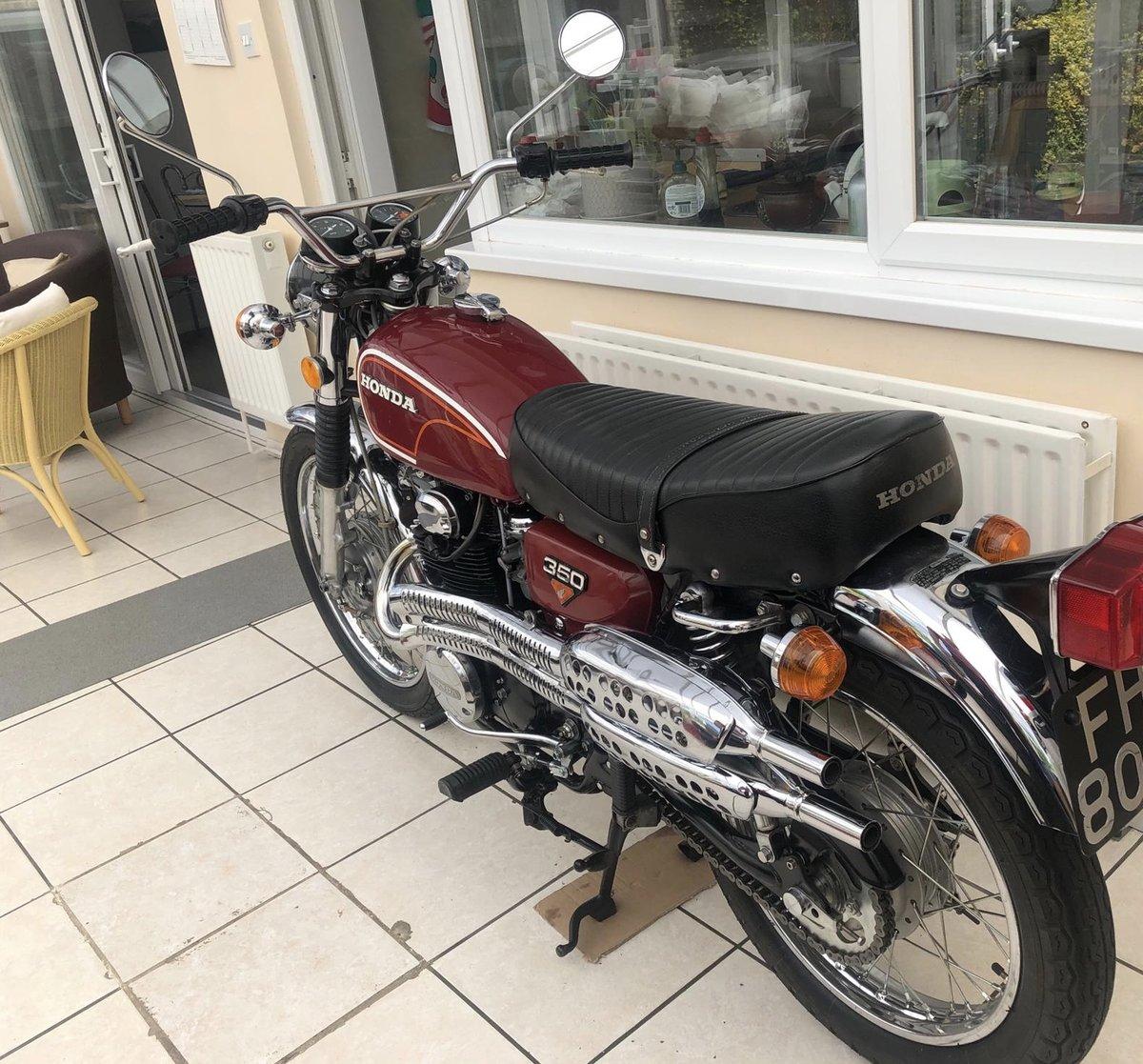 1972 Honda CL350 UK Registered For Sale (picture 4 of 6)