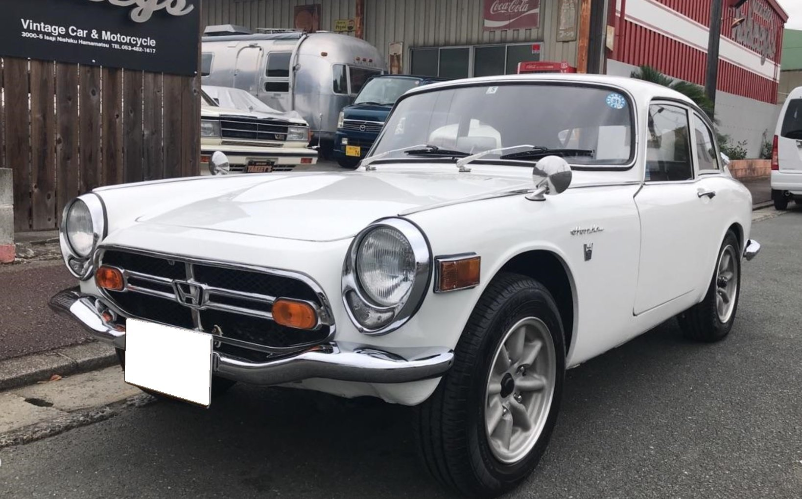 1966 HONDA S800 (Coupe) from Japan For Sale (picture 1 of 6)