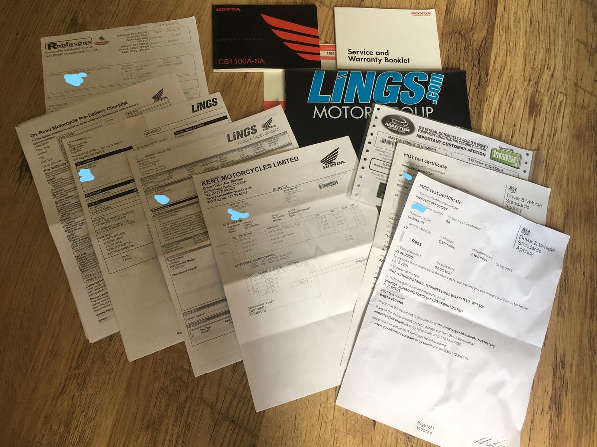 Honda CB1100 2016, Many extras For Sale (picture 3 of 6)