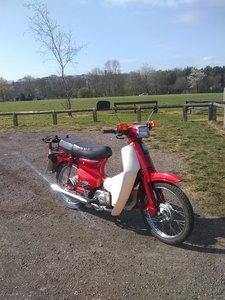 Honda c90 e/start