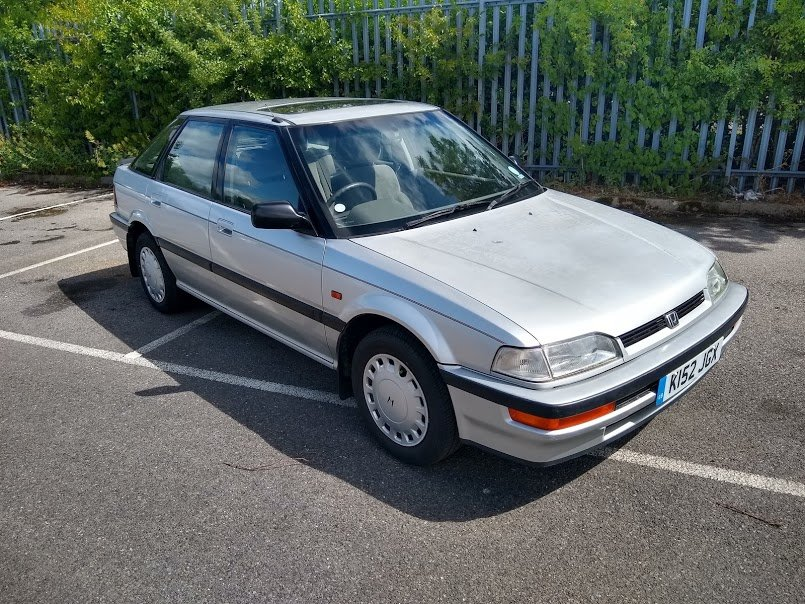 1992 Honda Concerto EXI Auto for auction 16th -17th July. For Sale by Auction (picture 1 of 6)