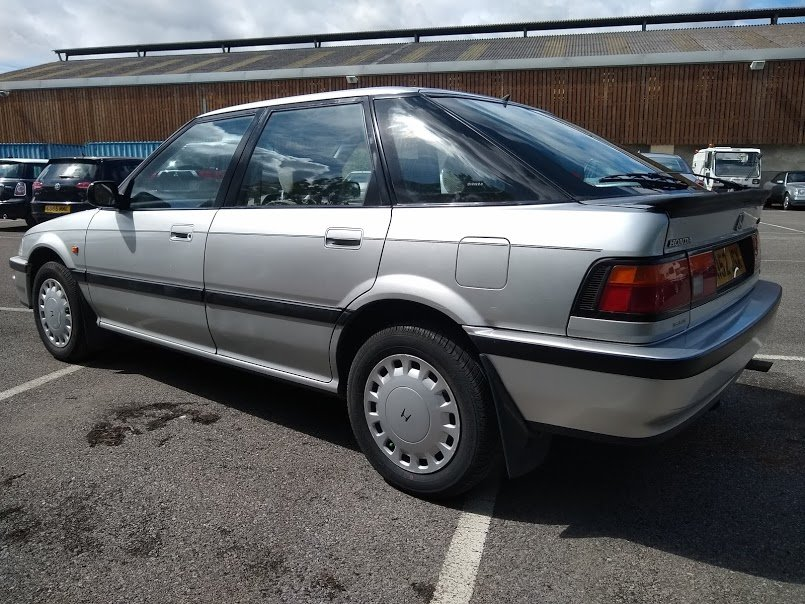 1992 Honda Concerto EXI Auto for auction 16th -17th July. For Sale by Auction (picture 3 of 6)