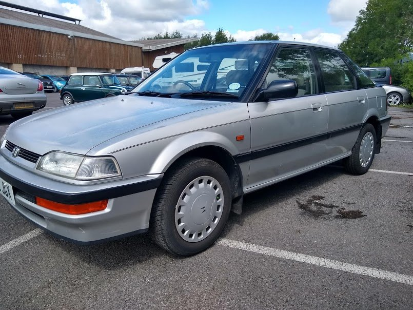 1992 Honda Concerto EXI Auto for auction 16th -17th July. For Sale by Auction (picture 4 of 6)