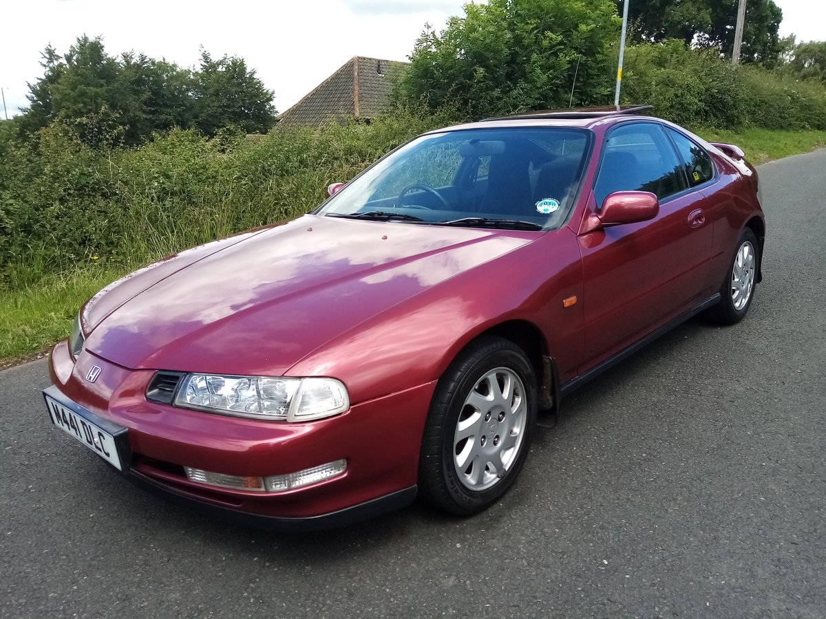1995 Honda Prelude 2.2 VTEC. FSH Family owned since new SOLD (picture 1 of 6)