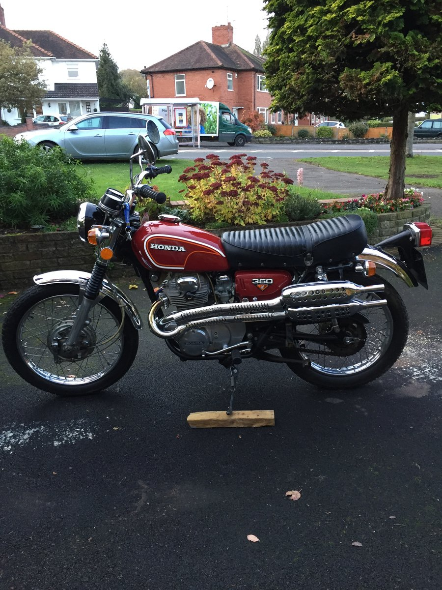 1972 HONDA CL350 classic  (low mileage) For Sale (picture 1 of 6)