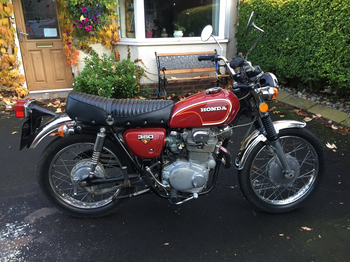 1972 HONDA CL350 classic  (low mileage) For Sale (picture 4 of 6)