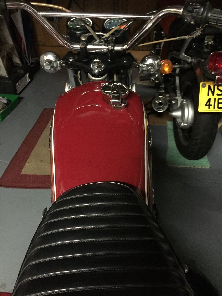 1972 HONDA CL350 classic  (low mileage) For Sale (picture 5 of 6)