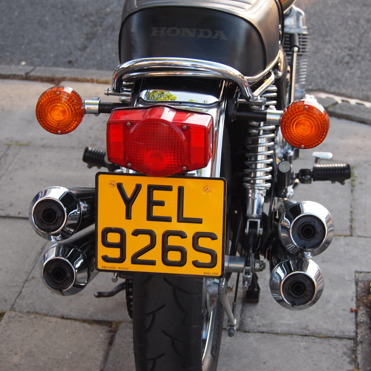 1978 Honda CB750 K8 5703 Miles, RESERVED FOR LOUIS & ANTOINETTE. SOLD (picture 4 of 6)