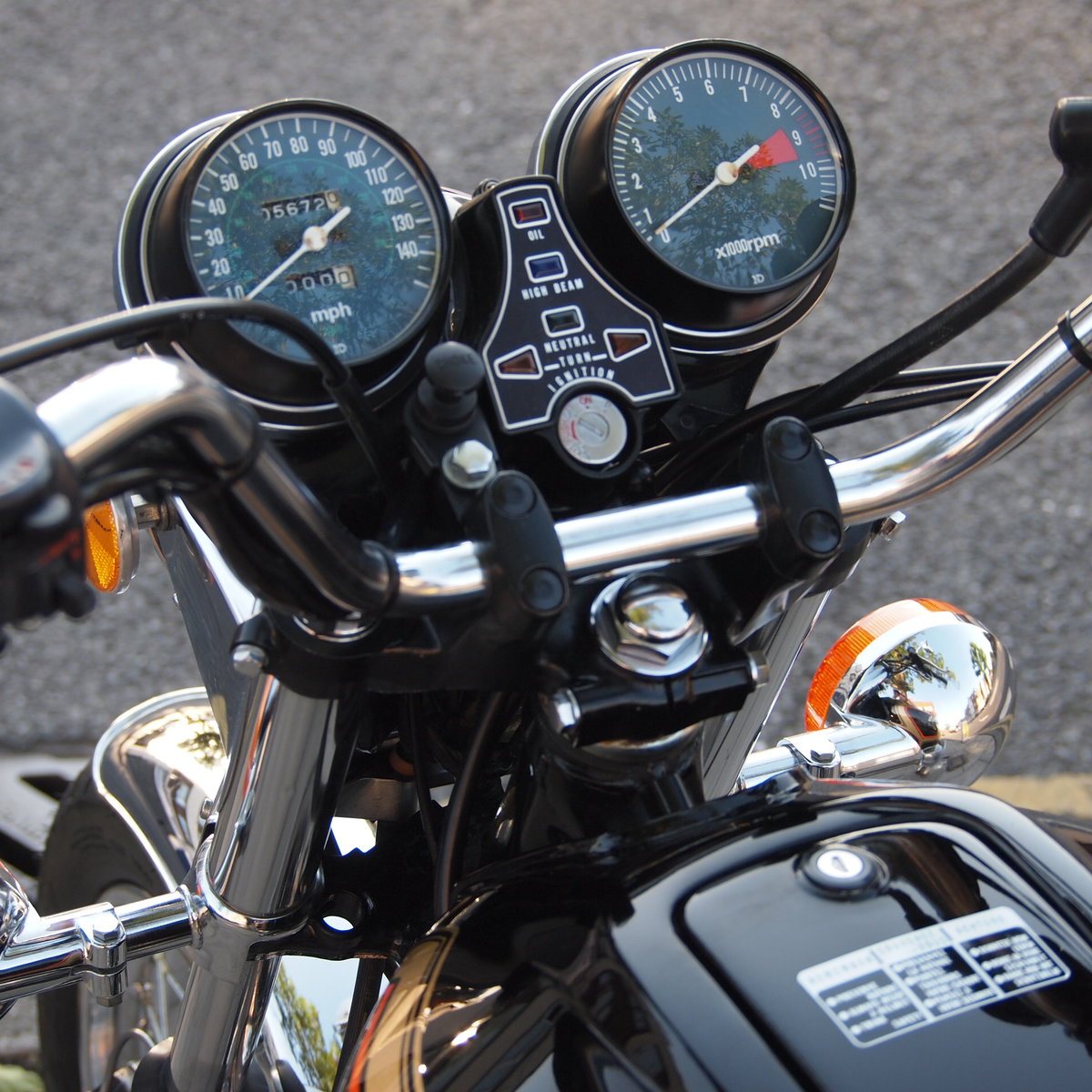 1978 Honda CB750 K8 5703 Miles, RESERVED FOR LOUIS & ANTOINETTE. SOLD (picture 6 of 6)