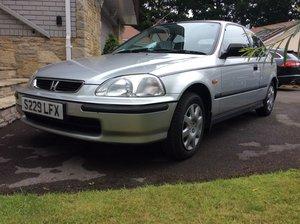 1998 Honda Civic 1.4i Automatic . Very low mileage