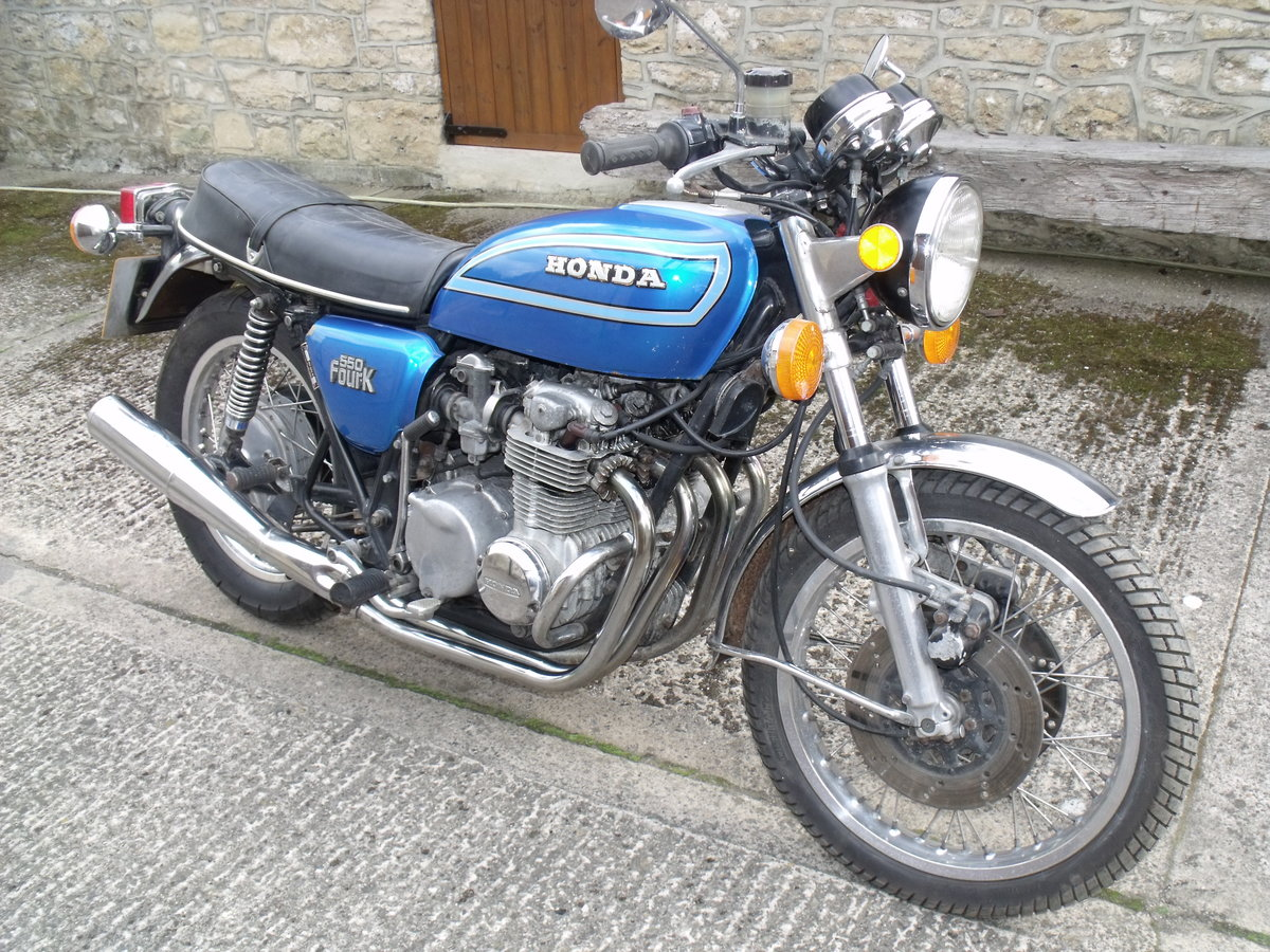 1980 Honda CB550 K2 restoration project Leeds For Sale (picture 1 of 6)