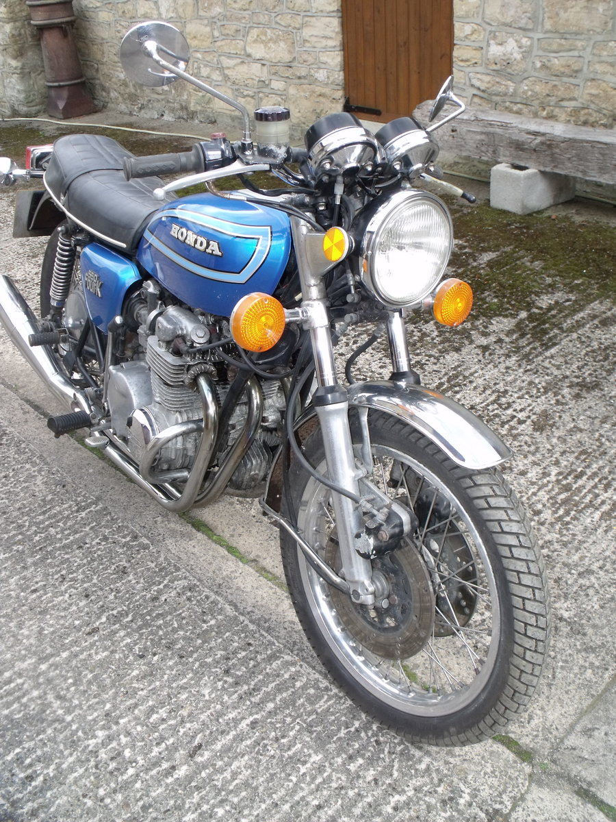 1980 Honda CB550 K2 restoration project Leeds For Sale (picture 3 of 6)