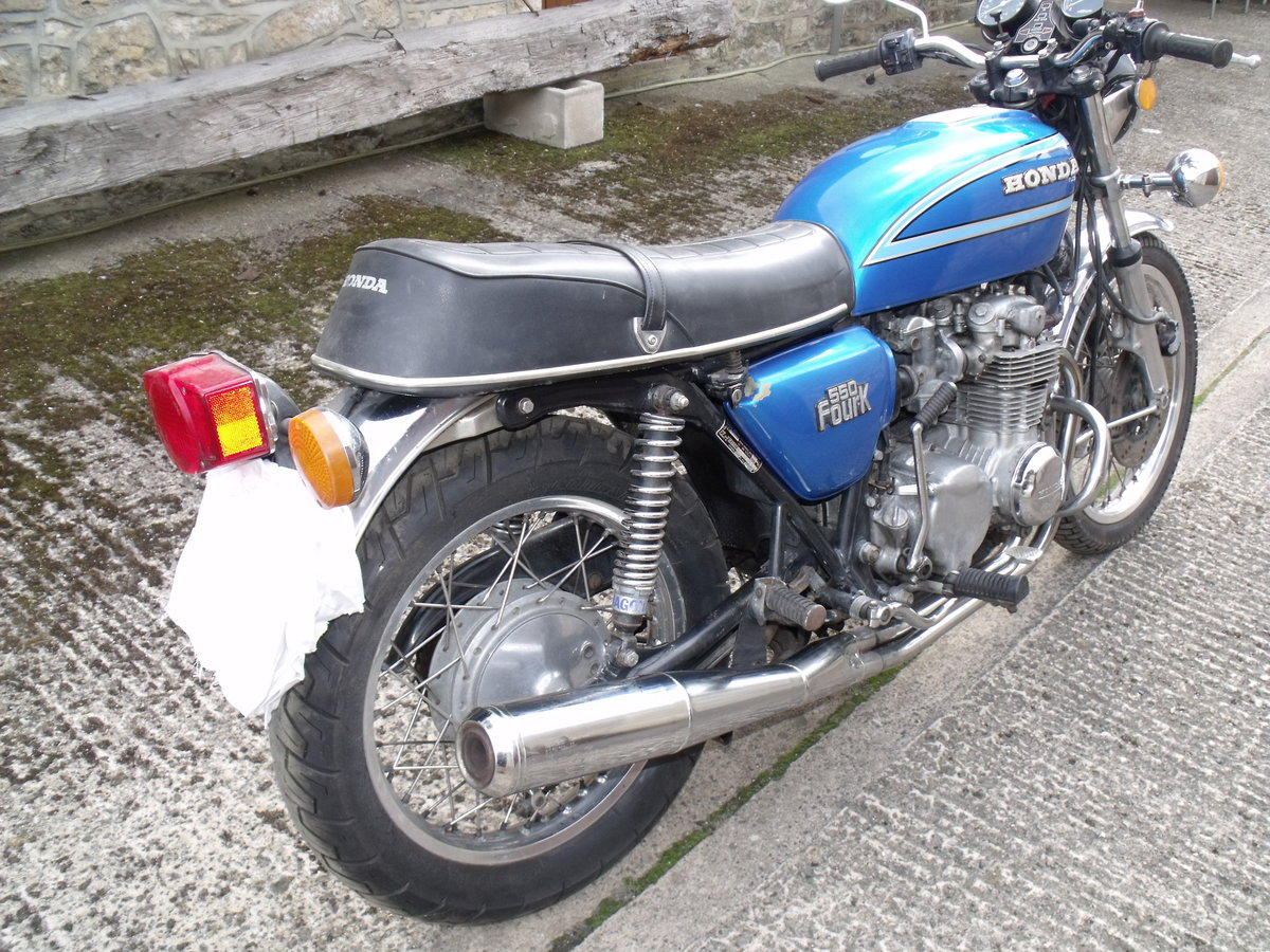 1980 Honda CB550 K2 restoration project Leeds For Sale (picture 4 of 6)