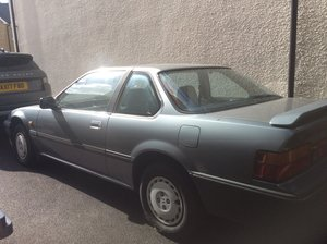 1989 Honda Prelude. Very low mileage, now a project