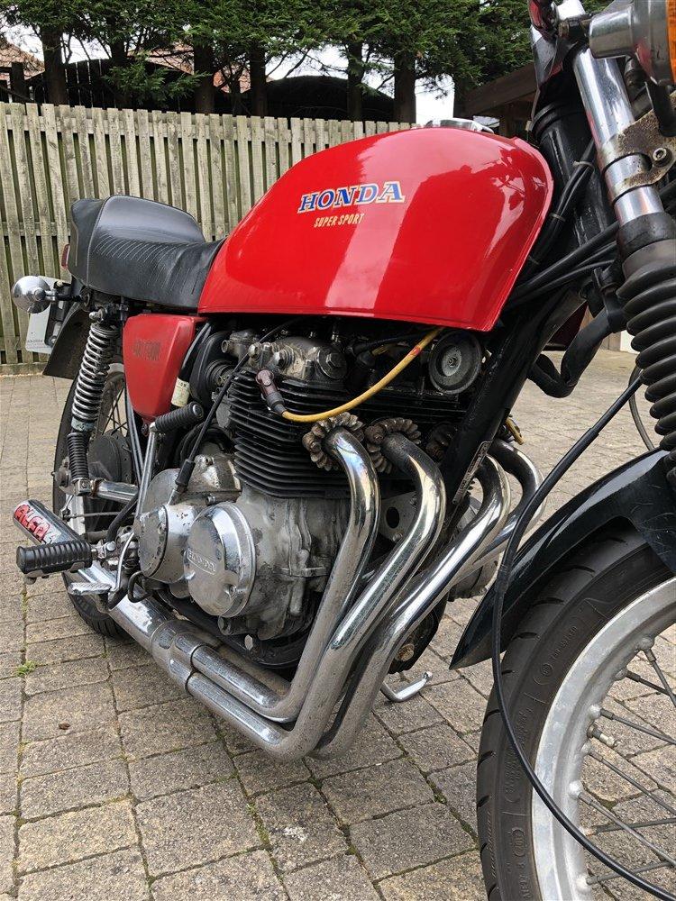 1976 Honda CB400 F Classic bike For Sale (picture 3 of 5)