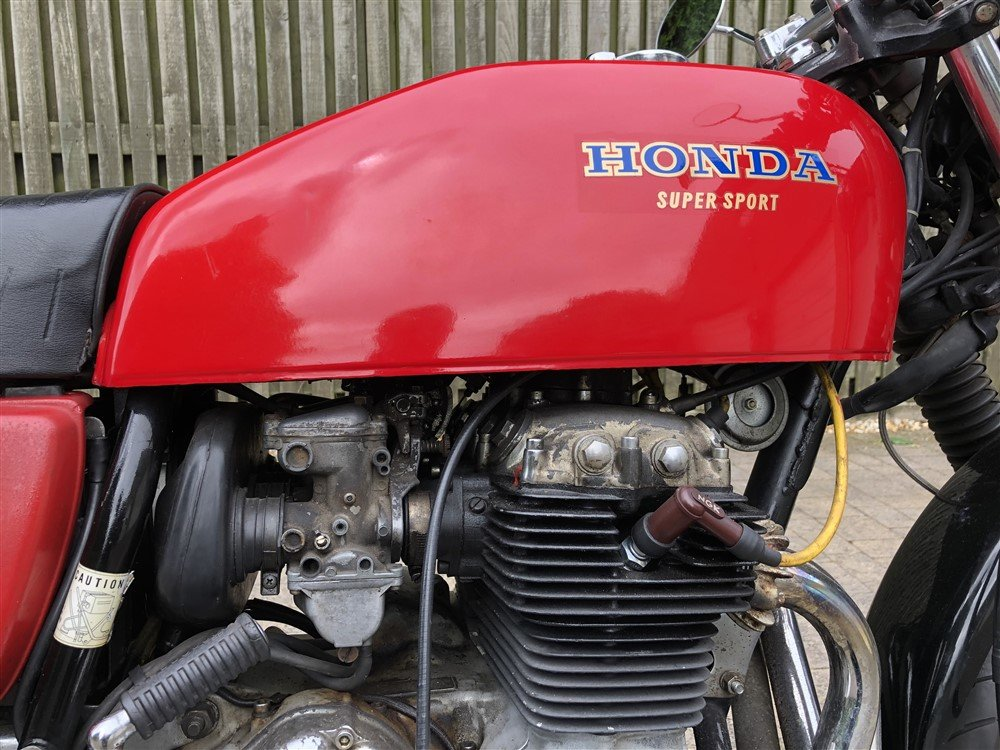 1976 Honda CB400 F Classic bike For Sale (picture 4 of 5)