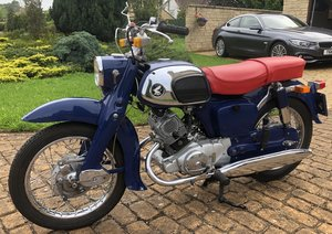 Honda C92 Benly 125cc Tourer