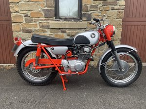 1967 Honda CL77 For Sale by Auction