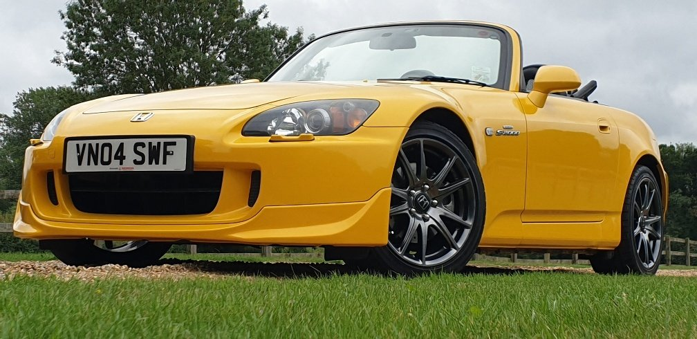 2004 STUNNING  MUGEN  S2000  IN  YELLOW  RARE  COLOUR   For Sale (picture 2 of 6)