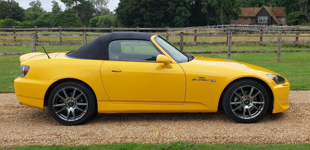 2004 STUNNING  MUGEN  S2000  IN  YELLOW  RARE  COLOUR   For Sale (picture 4 of 6)