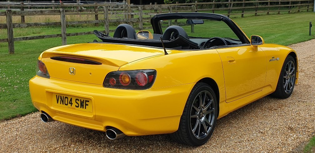 2004 STUNNING  MUGEN  S2000  IN  YELLOW  RARE  COLOUR   For Sale (picture 5 of 6)