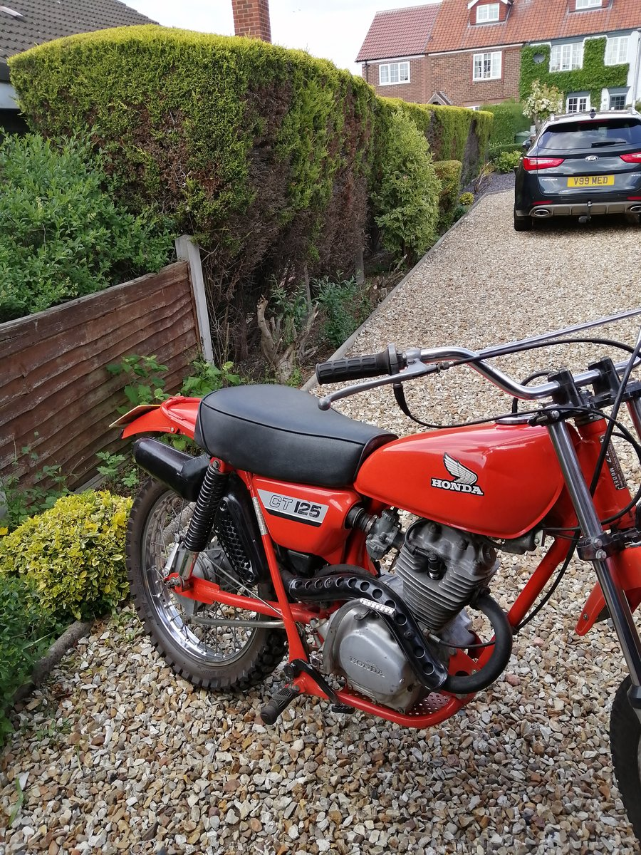 1977 Honda Trails For Sale (picture 1 of 1)