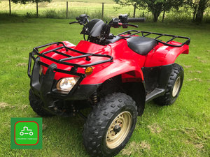 HONDA TRX250 4X2 2016 ONLY 988 HRS VERY TIDY SEE VIDEO  SOLD