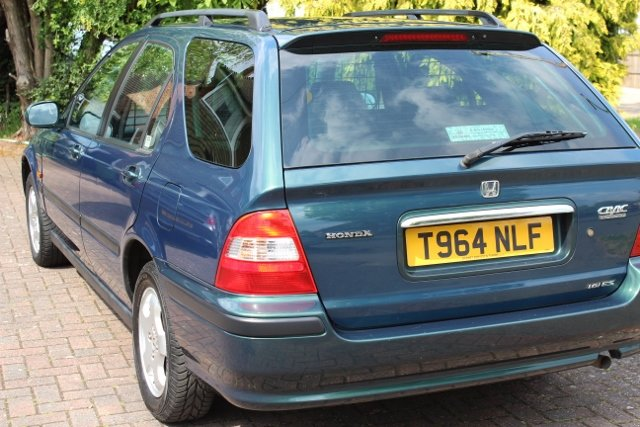 1999 HONDA CIVIC AERODECK ES AUTOMATIC 22K FSH MOT For Sale (picture 1 of 6)