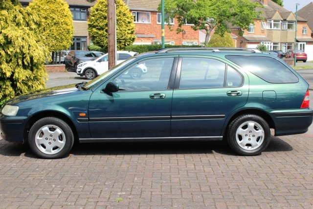 1999 HONDA CIVIC AERODECK ES AUTOMATIC 22K FSH MOT For Sale (picture 2 of 6)