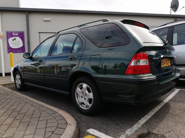 1999 HONDA CIVIC AERODECK ES AUTOMATIC 22K FSH MOT For Sale (picture 3 of 6)