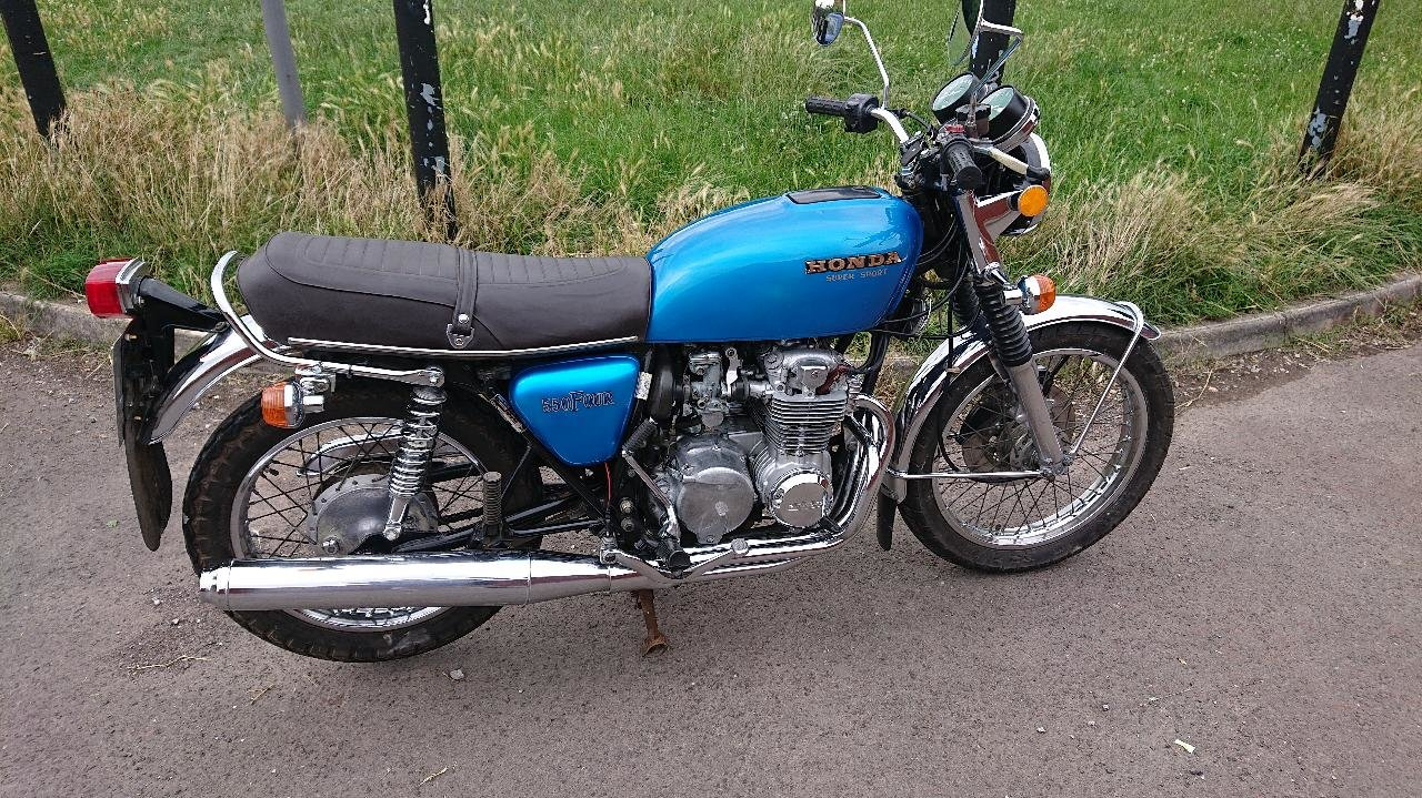 1976 honda cb 550 four For Sale (picture 1 of 6)