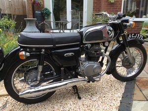 1972 Honda CD175 K3