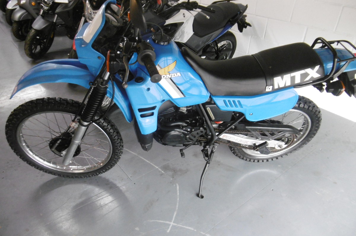 1982 Honda MTX125 very low miles  For Sale (picture 1 of 6)