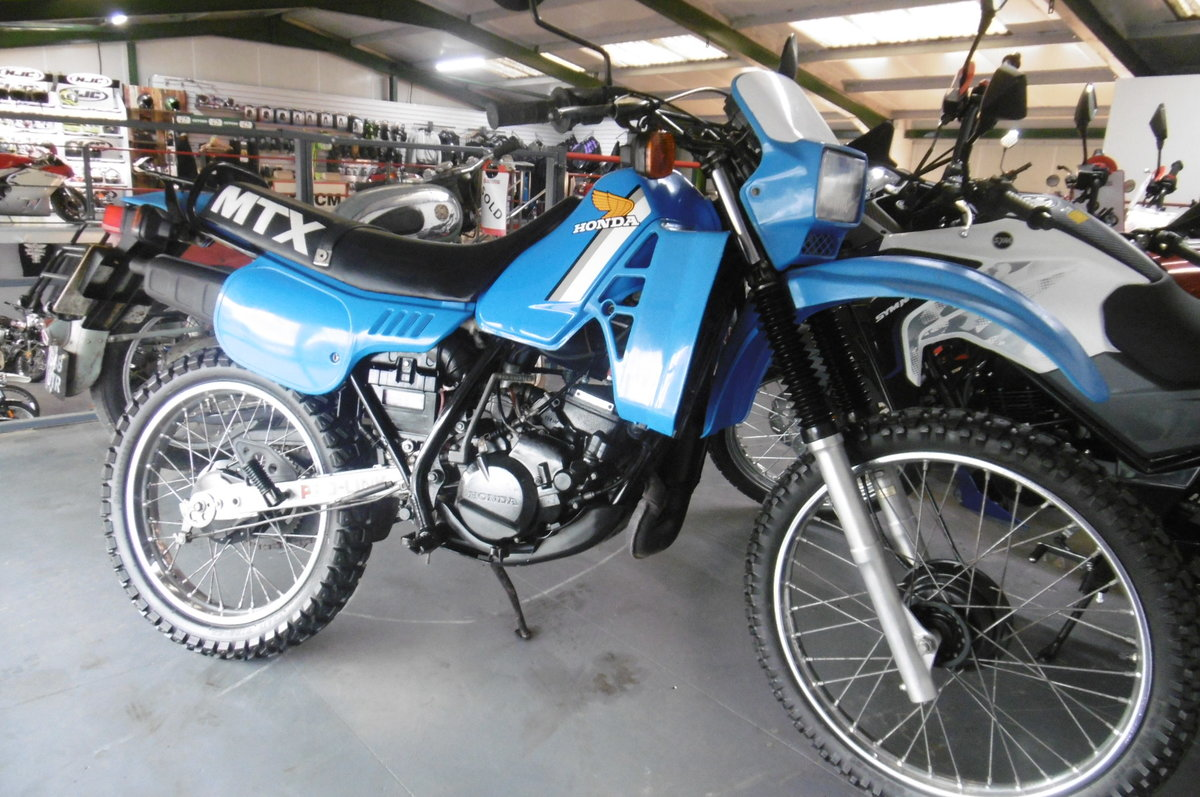 1982 Honda MTX125 very low miles  For Sale (picture 2 of 6)