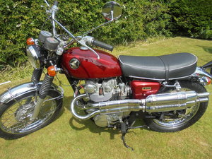 Honda cl 450 - show winner
