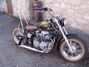 Honda CB650 Chopper Bobber special Custom Leeds