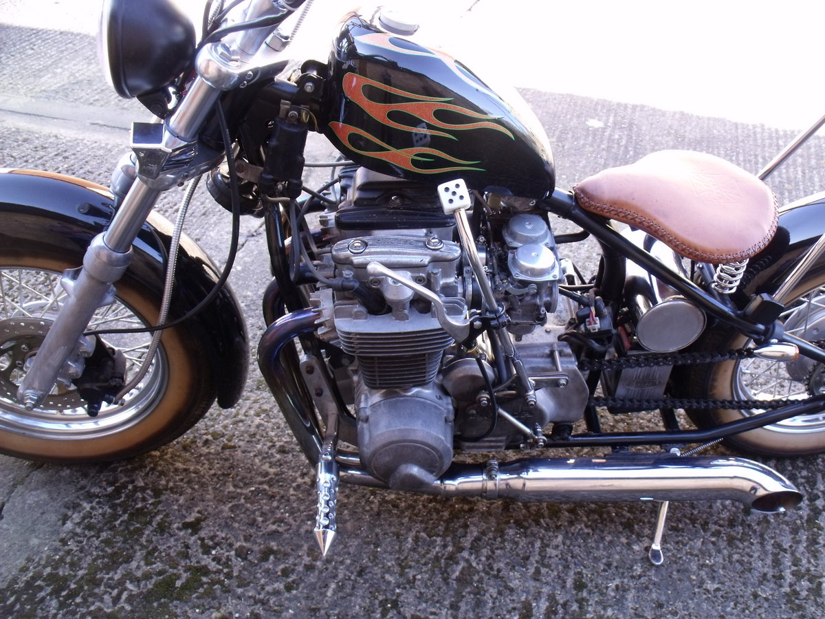 2009 Honda CB650 Chopper Bobber special Custom Leeds For Sale (picture 2 of 6)
