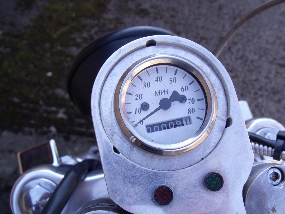 2009 Honda CB650 Chopper Bobber special Custom Leeds For Sale (picture 5 of 6)