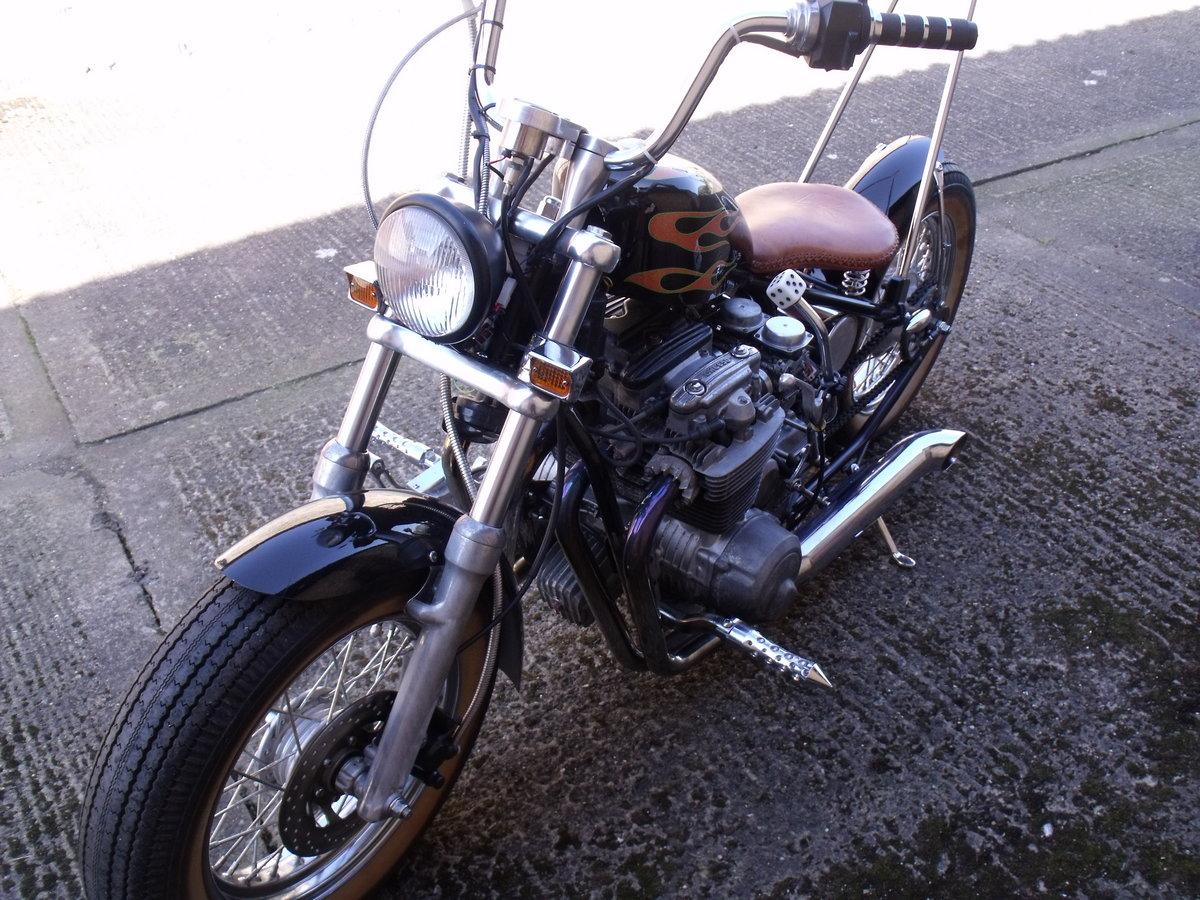 2009 Honda CB650 Chopper Bobber special Custom Leeds For Sale (picture 6 of 6)