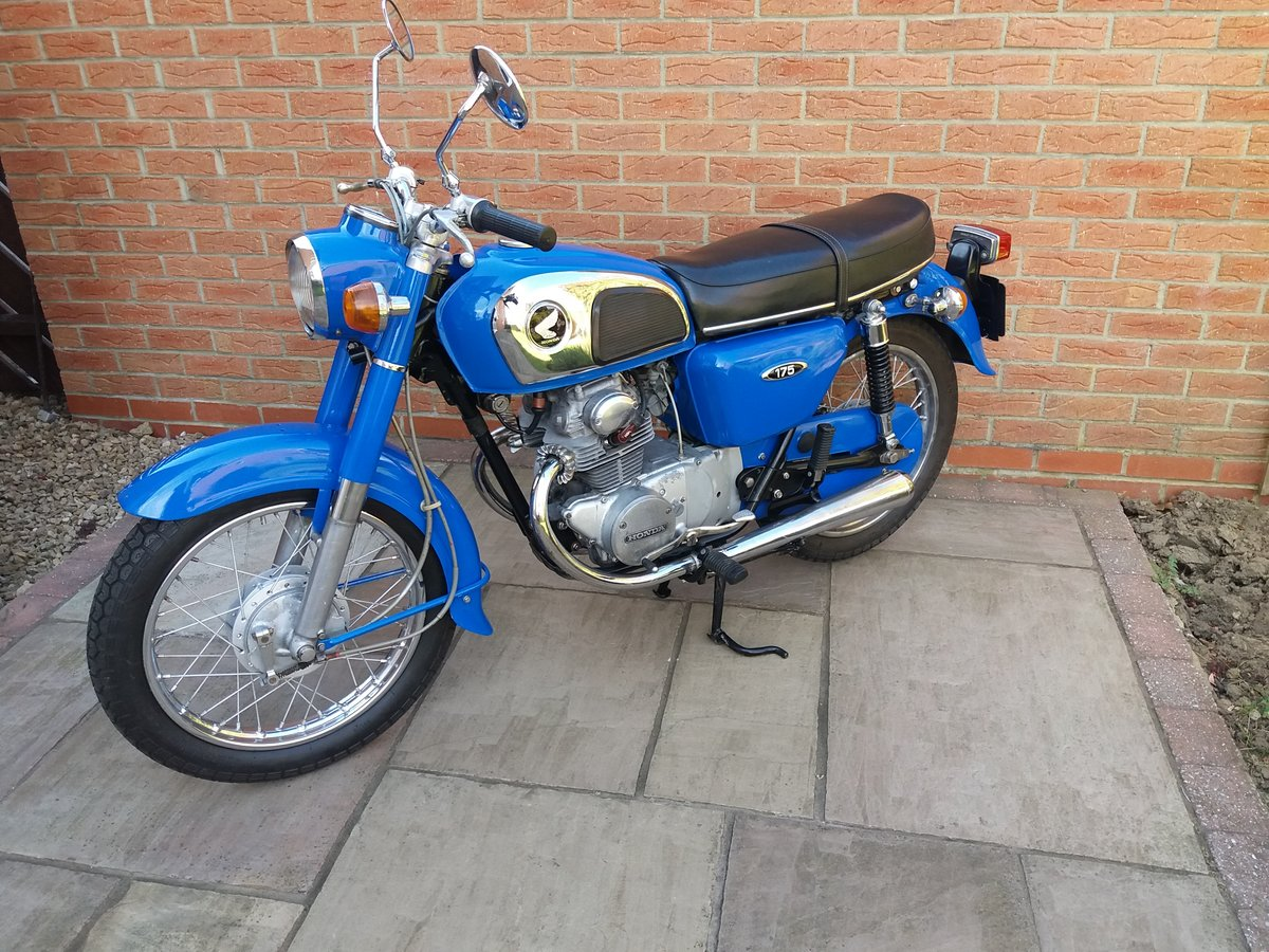 1976 Honda CD 175...Good value.... For Sale (picture 1 of 3)