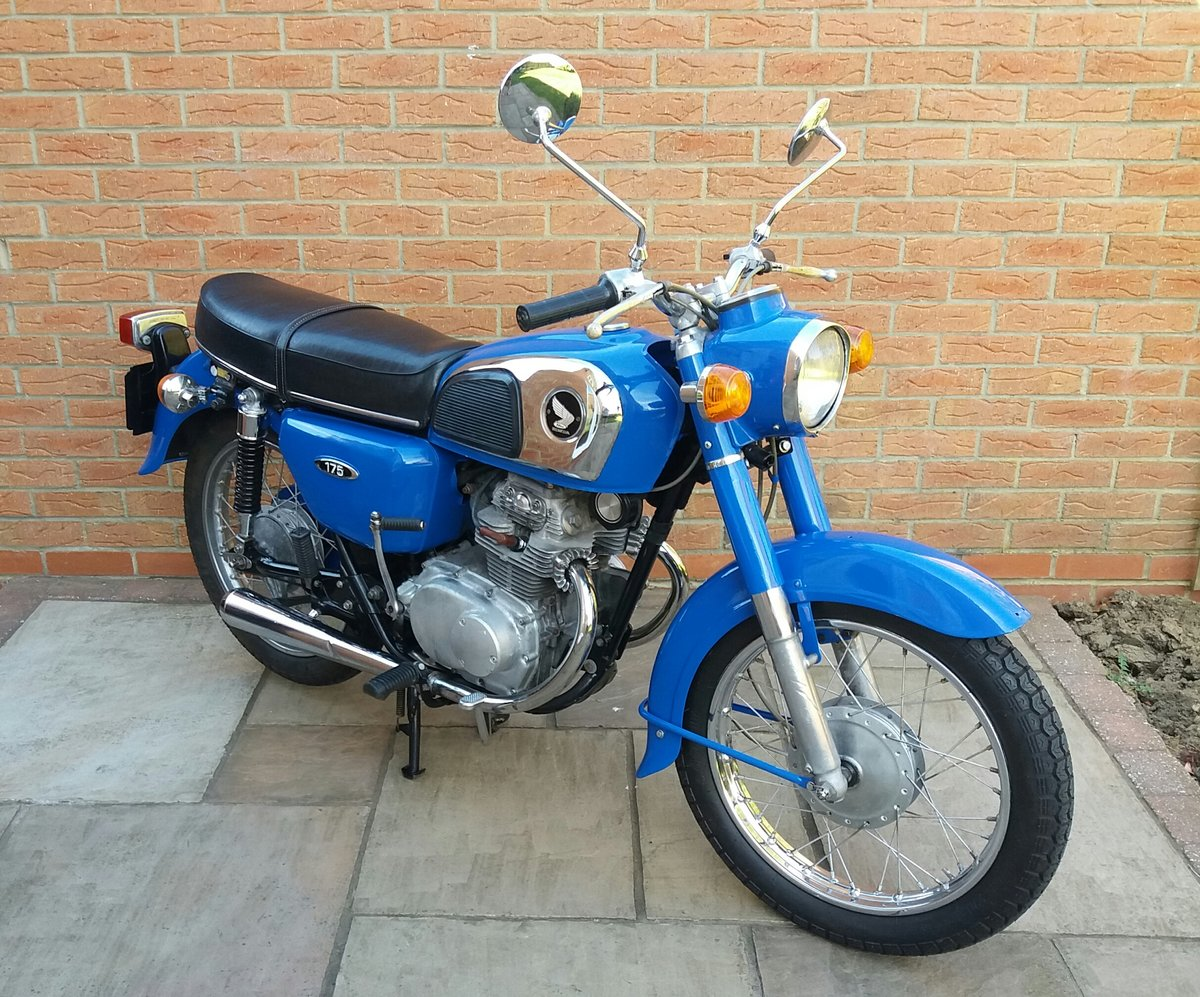 1976 Honda CD 175...Good value.... For Sale (picture 2 of 3)