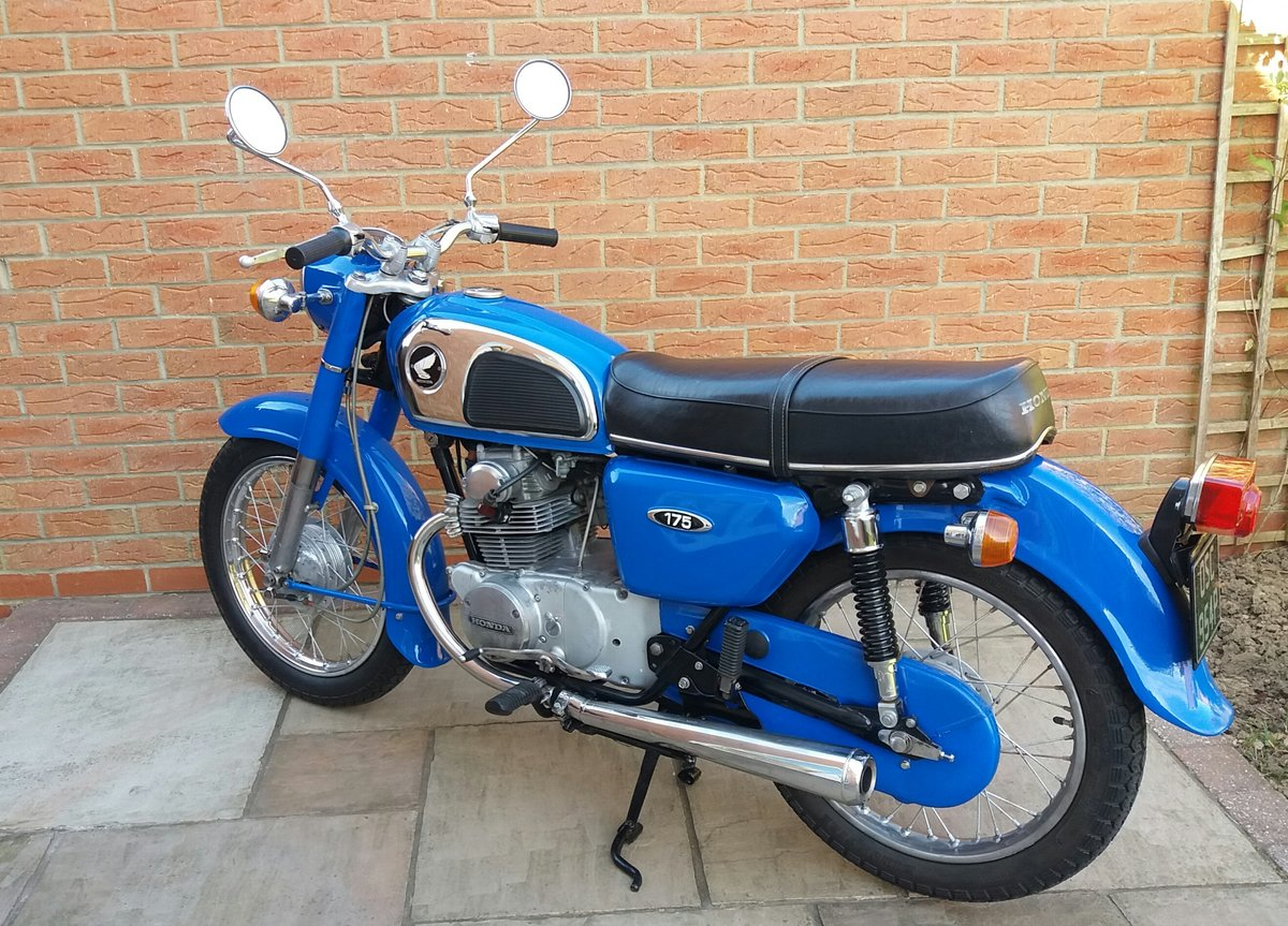 1976 Honda CD 175...Good value.... For Sale (picture 3 of 3)