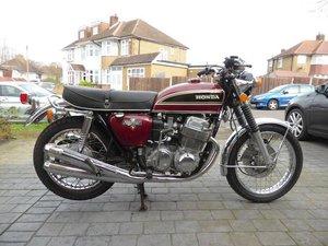 1976 HONDA CB750 K6 (LOT 459)
