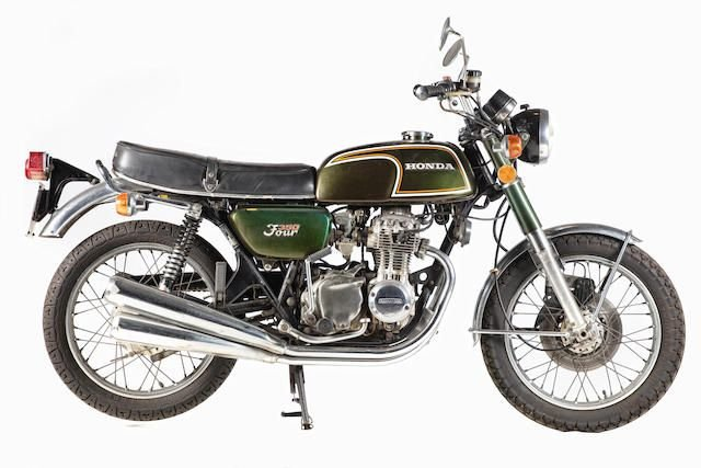 1972 HONDA CB350F (LOT 609) SOLD by Auction (picture 1 of 1)
