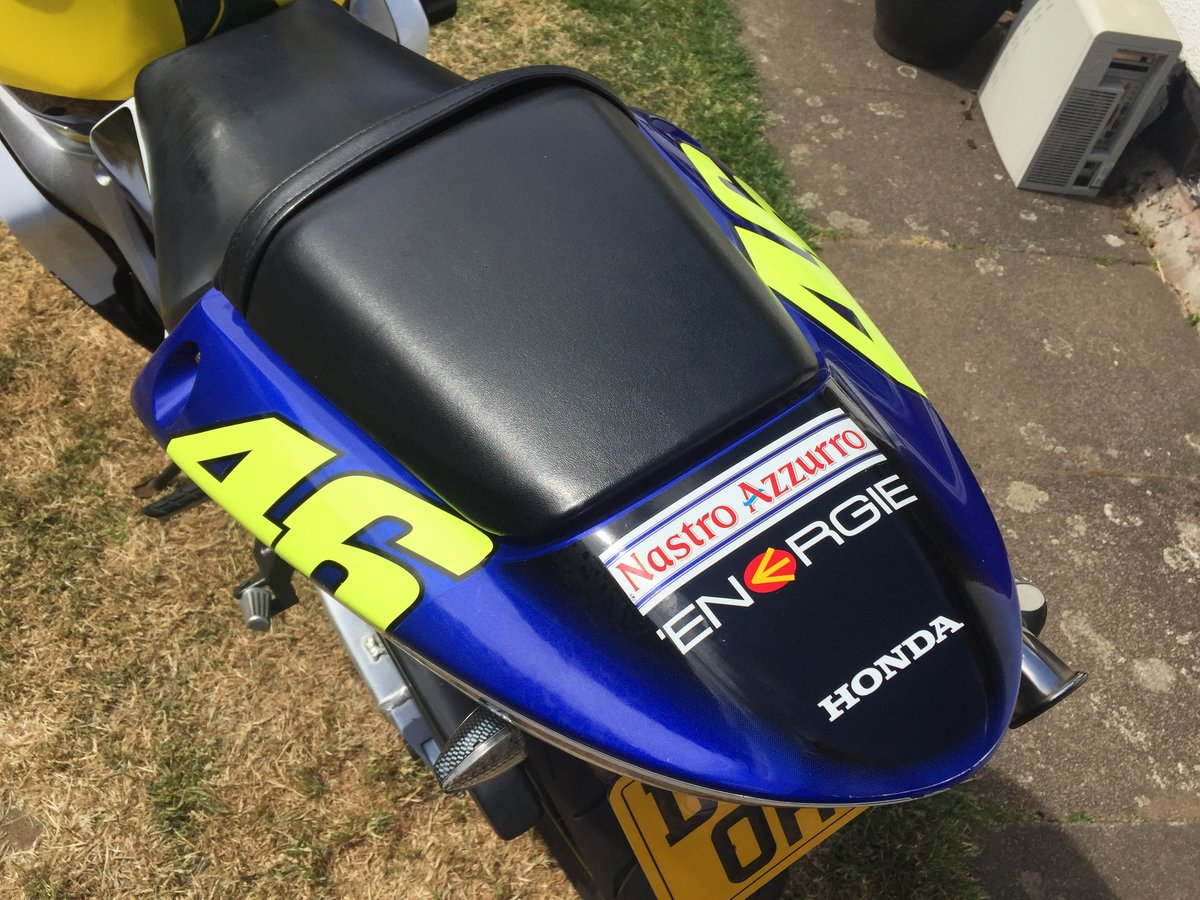 2003 Honda CBR600 OfficialRossi Factory Replica For Sale (picture 6 of 6)