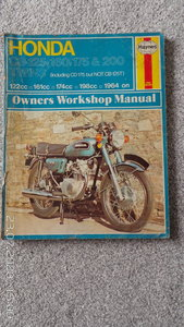 Honda CB haynes manual