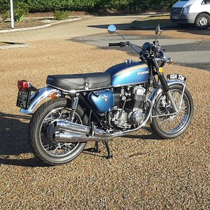 Honda CB750K2 UK Motorcycle