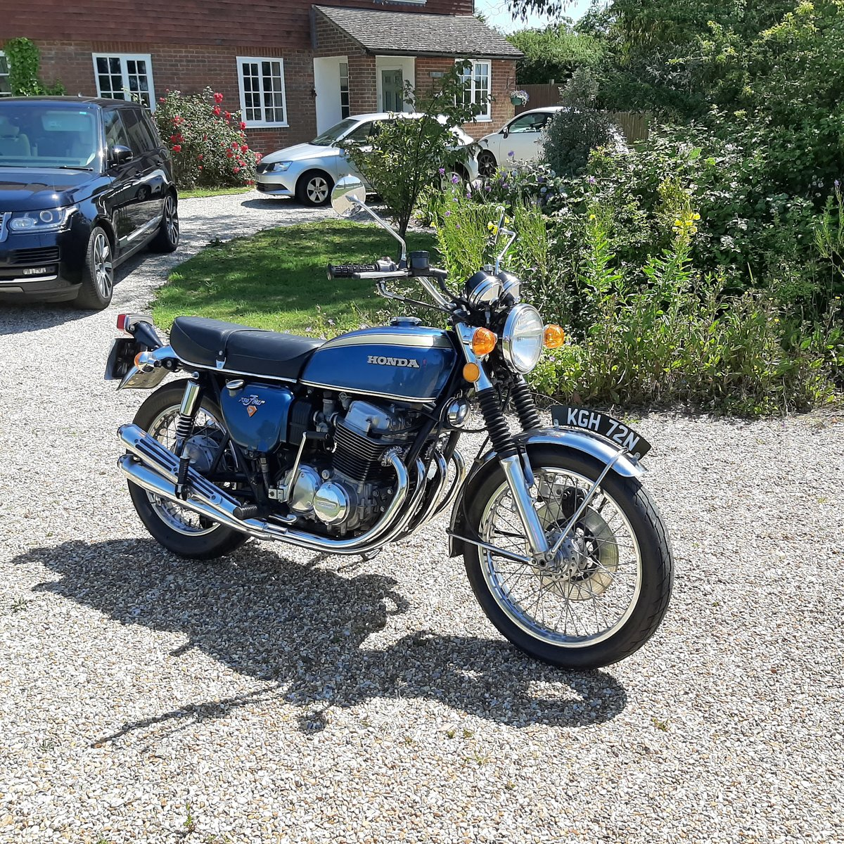 1975 Honda CB750K2 UK Motorcycle For Sale (picture 6 of 6)
