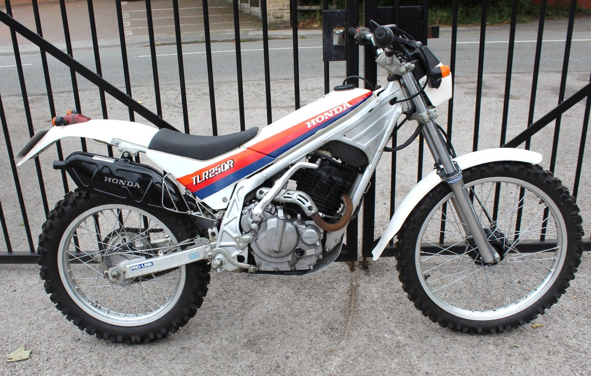 1986 Honda TLR 250 cc Trials Bike Road Registered SOLD (picture 1 of 6)